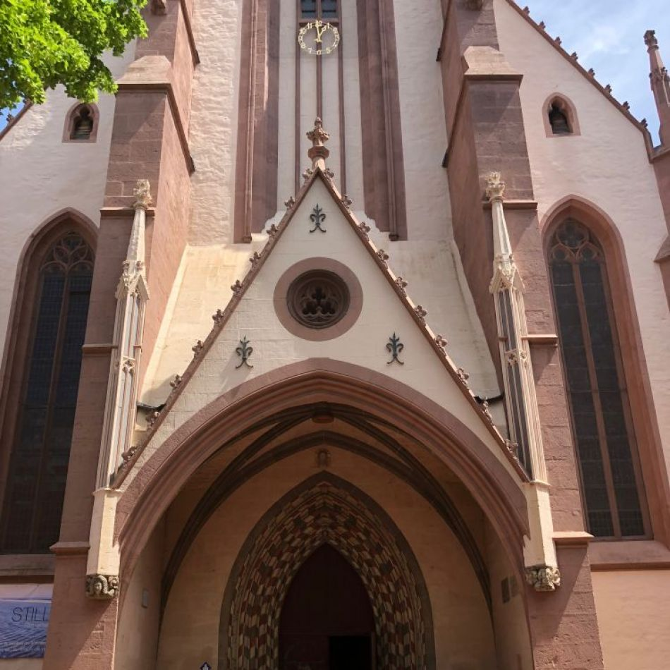 Kerk in Göttingen